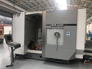 Фрезерный станок DMG DMC 80 FD doublock, Г.  2005-6