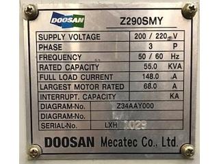 Токарный станок Doosan Z 290 SMY-5