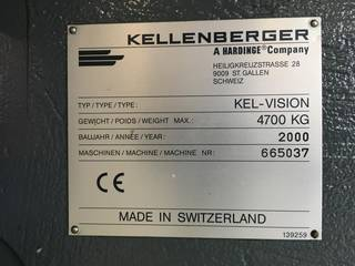 Шлифовальный станок Kellenberger Kel-vision URS 125 x 430 generalüberholt-5