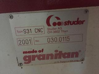Шлифовальный станок Studer S 31 universal full +B axis + C axis rebuilt-5