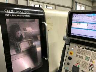 Токарный станок DMG CTX alpha 300-0