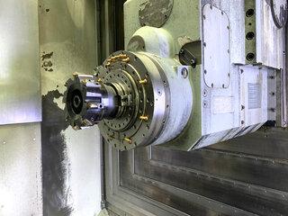 Фрезерный станок DMG DMC 80 H doubock-1