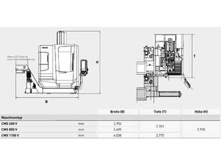 Фрезерный станок DMG MORI ecoMill 1100 V, Г.  2015-6