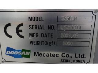 Токарный станок Doosan S 550 LM-9