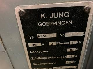 Шлифовальный станок Jung HF 50 RD-6