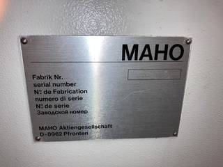 Фрезерный станок Maho 500 M, Г.  1990-11