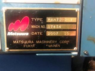 Фрезерный станок Matsuura MAM 72 25V, Г.  2007-4