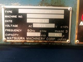 Фрезерный станок Matsuura MAM 72 25V, Г.  2007-5