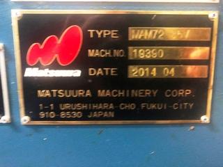 Фрезерный станок Matsuura MAM 72 35V, Г.  2014-9