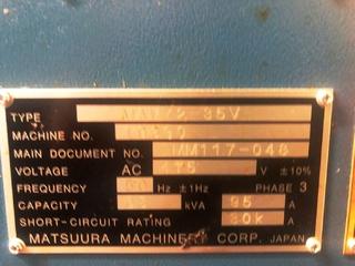 Фрезерный станок Matsuura MAM 72 35V, Г.  2014-10
