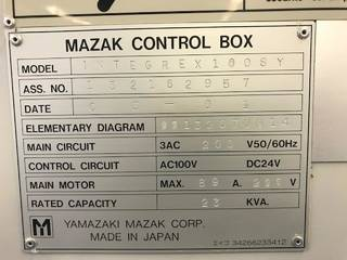 Токарный станок Mazak Integrex 100 SY-II-7