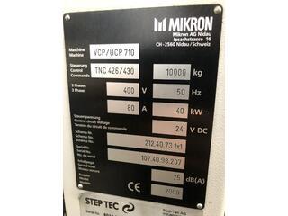 Фрезерный станок Mikron UCP 710-11