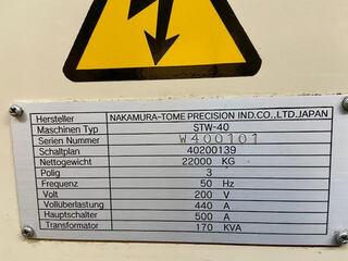 Токарный станок Nakamura STW - 40-8
