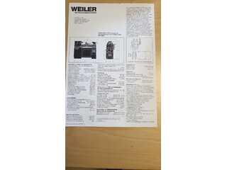 Weiler Matador W2 токарных станков-1