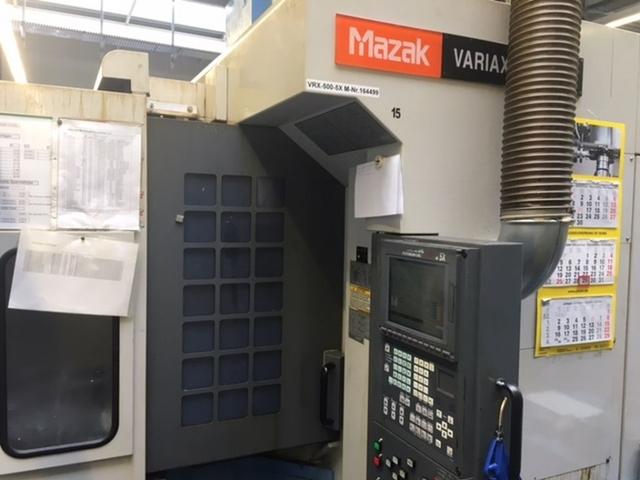 больше рисунков Фрезерный станок Mazak Variaxis 500 5X - Production line 2 machines / 14 pallets, Г.  2005