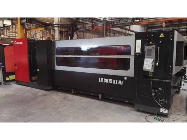 больше рисунков Amada LC 3015 X1 NT 4000 W Лазерные станки