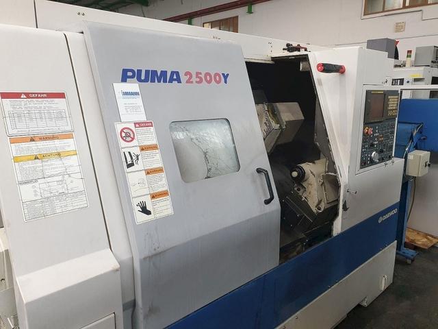 больше рисунков Токарный станок Doosan Puma 2500 Y