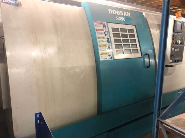 больше рисунков Токарный станок Doosan S390L