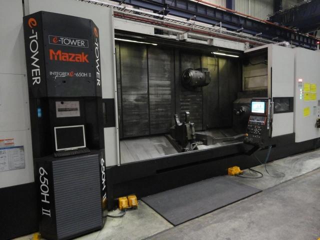 больше рисунков Токарный станок Mazak Integrex E 650 H S II