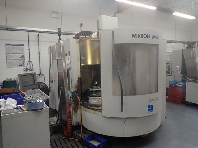 больше рисунков Фрезерный станок Mikron XSM 600 U  7 apc, Г.  2006