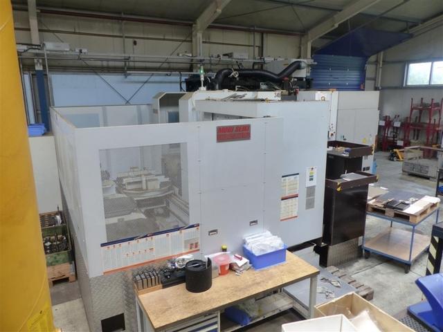 больше рисунков Фрезерный станок Mori Seiki NH 6300 DCG APC 6, Г.  2012