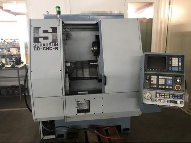больше рисунков Токарный станок Schaublin 110 CNC R