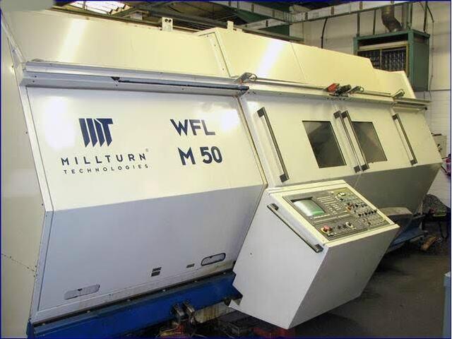 больше рисунков Токарный станок WFL Millturn M 50