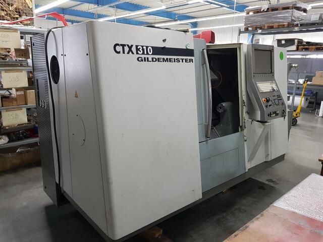 больше рисунков Токарный станок DMG CTX 310 V3