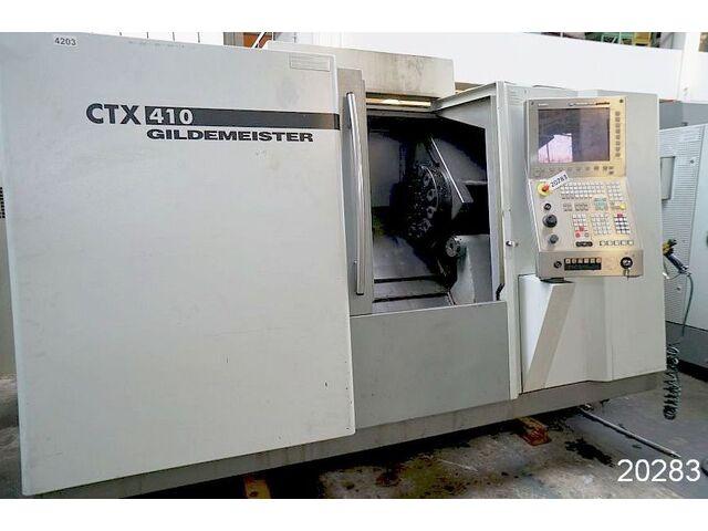 больше рисунков Токарный станок DMG CTX 410 V3