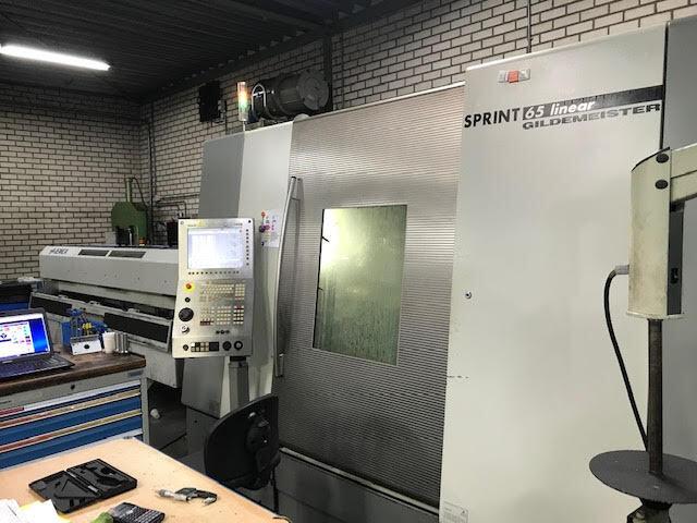 больше рисунков Токарный станок DMG Sprint 65 Linaer