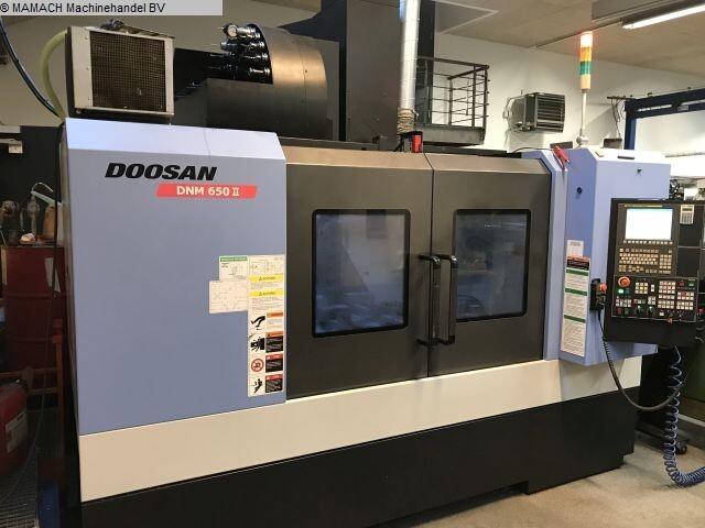 больше рисунков Фрезерный станок Doosan DNM 650 II