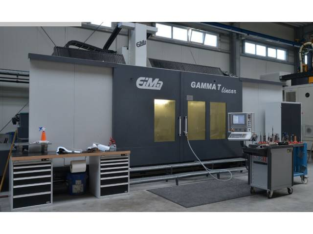 больше рисунков EIMA Gamma T linear портальные фрезерные станки