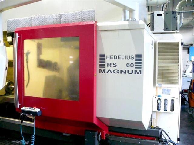 больше рисунков Фрезерный станок Hedelius RS 60 KM-2000