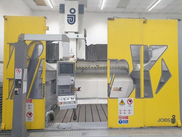 больше рисунков Фрезерный станок Jobs LinX Compact 5 Axis