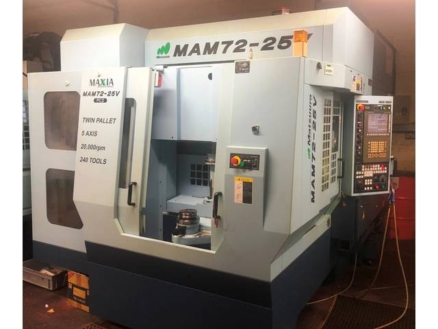больше рисунков Фрезерный станок Matsuura MAM 72 25V, Г.  2007