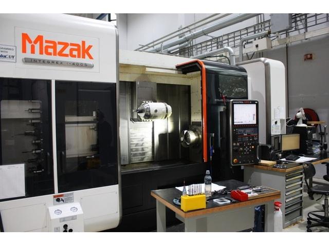 больше рисунков Токарный станок Mazak integrex i 400 S  1.500 U