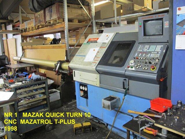 больше рисунков Токарный станок Mazak QT 10