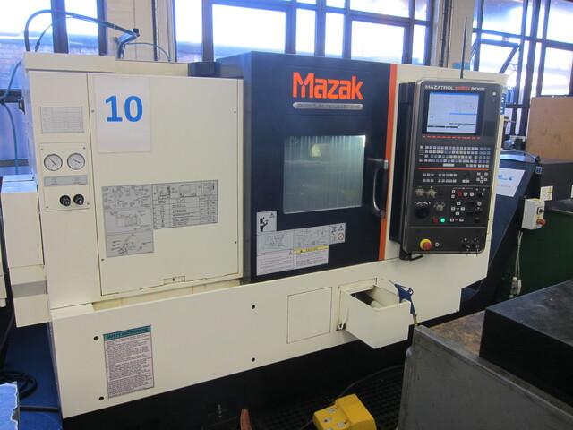 больше рисунков Токарный станок Mazak QT Nexus 250-II MS