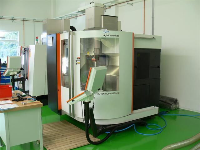 больше рисунков Фрезерный станок Mikron UCP 600 Vario, Г.  2011