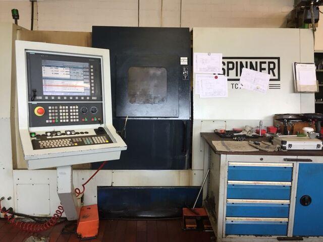 больше рисунков Токарный станок Spinner TC 77 MCY