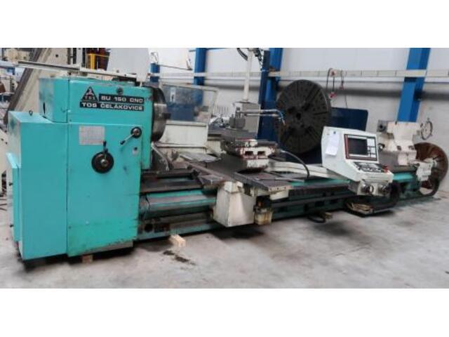 больше рисунков Токарный станок TOS SU 150 CNC 5000