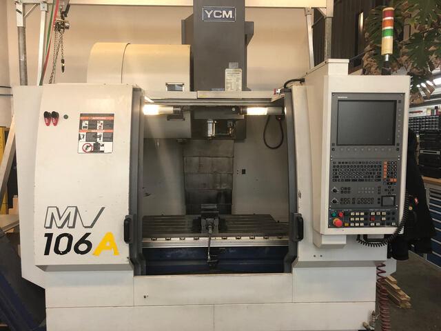 больше рисунков Фрезерный станок YCM MV106A
